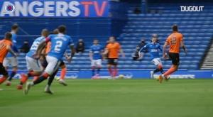 Kent scored for Rangers. DUGOUT