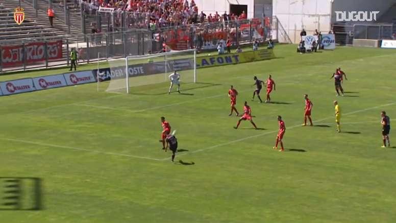 Les derniers buts de Monaco contre Nîmes. DUGOUT