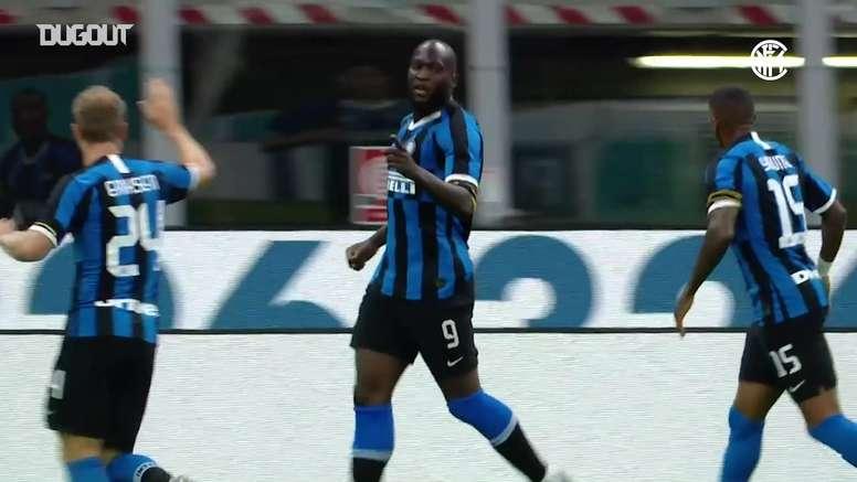 VIDEO: Romelu Lukaku supports Black Lives Matter after Sampdoria goal. DUGOUT