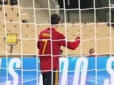 Así vivió España el 6-0 a Alemania a pie de campo. DUGOUT