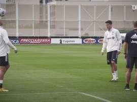 Morata volvió a despedirse del Atleti. DUGOUT