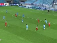 Cesinha scored in Daegu's win over Gangwon. DUGOUT