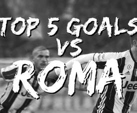 Juventus have scored some cracking goals v Roma over the years. DUGOUT