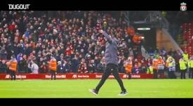 Il Liverpool vince la Premier. Dugout