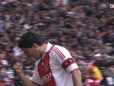 Luis Suarez got a hat-trick as Ajax beat VVV Venlo 7-0 in 2010. DUGOUT