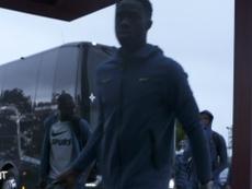 Spurs travel to Belgium. DUGOUT