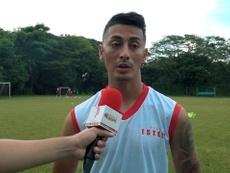 Chavarría marcó en el 1-1 de Nicaragua ante Honduras. DUGOUT
