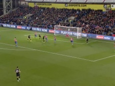 Neal Maupay put Brighton ahead at Crystal Palace, but the match ended 1-1. DUGOUT