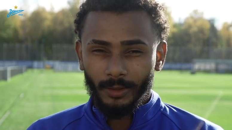 Aos 23 anos, Wendel assinou com o Zenit por cinco temporadas. DUGOUT