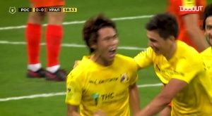 Les meilleurs moments de Kento Hashimoto en Premier League russe. Dugout