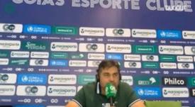 Presidente do Goiás lamenta prejuízo com adiamento do jogo. DUGOUT