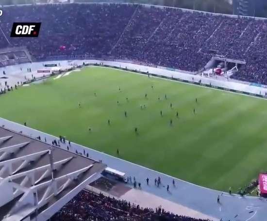 Melhores momentos do Colo-Colo contra a Universidad de Chile. DUGOUT