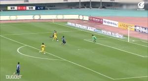 Felipe Silva scored in Gwangju's K-League victory over Incheon. DUGOUT