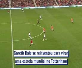 A evolução de Gareth Bale no Tottenham. DUGOUT