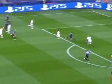 La vittoria del PSG contro l'Atalanta. Dugout