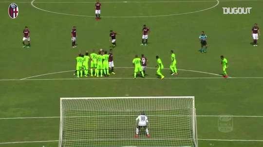 Il gran goal di Verdi contro il Cagliari. Dugout