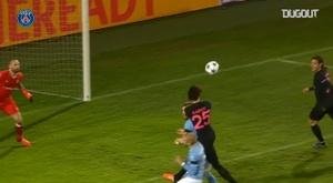 La superbe victoire 5-0 du PSG face à Malmö en 2015. dugout