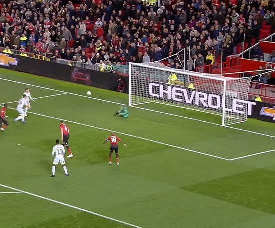 Jack Marriott scored in Derby's win over Man Utd at Old Trafford. DUGOUT
