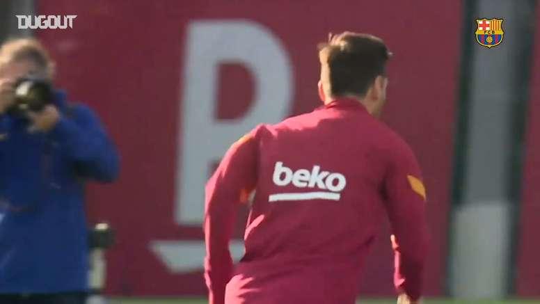 Messi e Coutinho voltam a treinar no Barça. DUGOUT