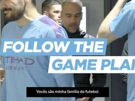 Gabriel Jesus, Guardiola e City mandam recado a torcedores. DUGOUT