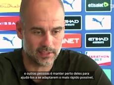 Pep Guardiola projeta estreia do City na Premier. DUGOUT