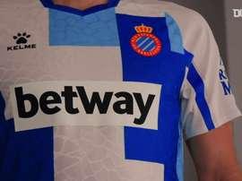 Espanyol divulga uniforme para comemoração de 120 anos do clube. DUGOUT