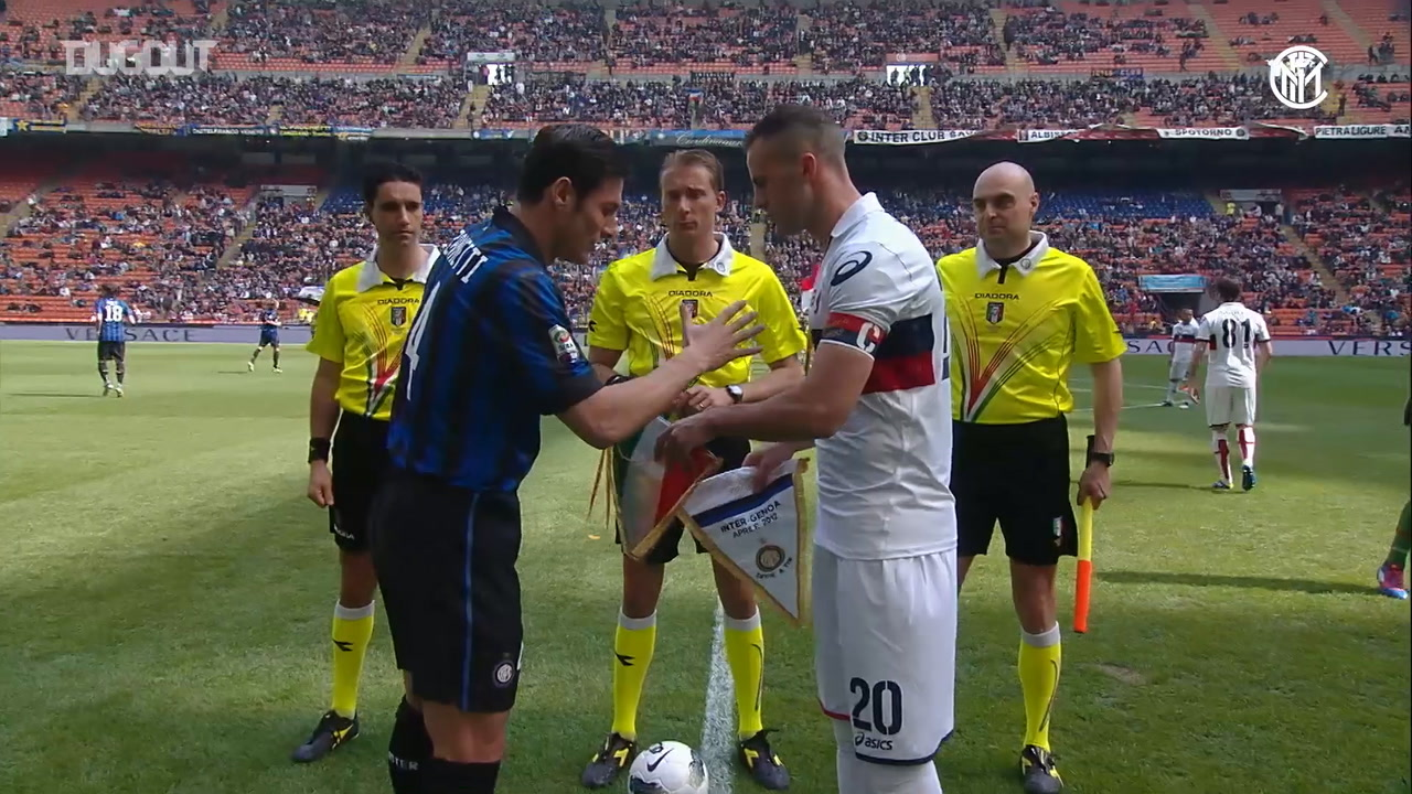 Video Inter Play Out Nine Goal Thriller With Genoa Besoccer