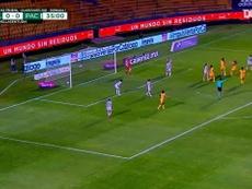 Tigres goleó en su debut en el Clausura 2021. DUGOUT