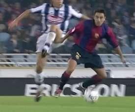 Les meilleurs gestes techniques de Xavi à Barcelone. DUGOUT
