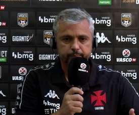 Grasseli diz que time do Vasco se cobrou após derrota. DUGOUT