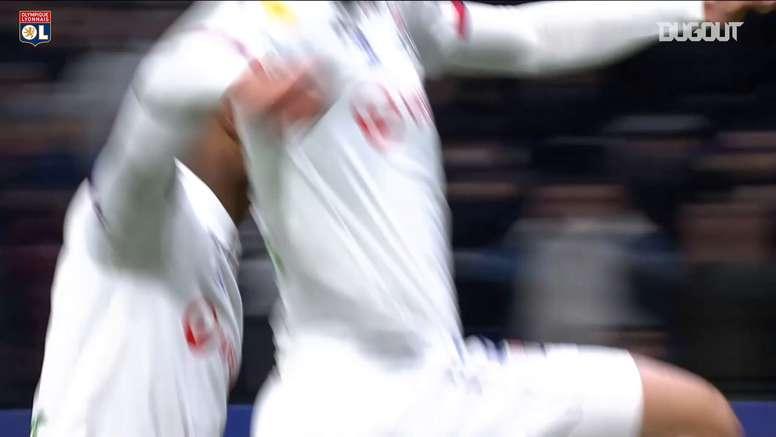 Tous les buts de l'OL lors de la Coupe de la Ligue 2019-20. dugout