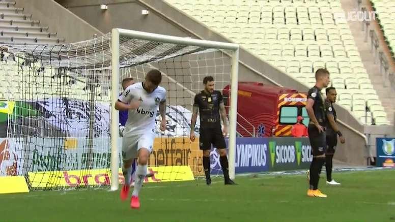 Highlights: Ceará 2-2 Atlético-MG. DUGOUT
