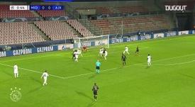 El Ajax se impuso al Midtjylland en Champions. DUGOUT