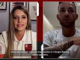 Uma de suas referências para Léo Pereira é o capitão da Espanha e do Real Madrid. DUGOUT