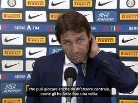 Conte è soddisfatto di Vidal. Dugout