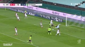 Gustagol estreia com gol na Coréia do Sul. DUGOUT