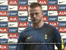 Dier reveals why he went off during Chelsea win. DUGOUT