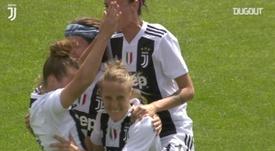 Il goal di Valentina Cernoia. Dugout