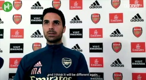 Arteta speaks about upcoming fixtures. DUGOUT