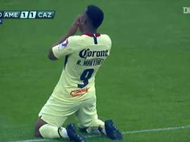 Martínez scored two for Club América. DUGOUT