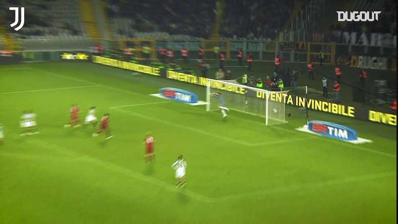 Les meilleurs coup francs de la Juventus contre l'AS Roma. Dugout