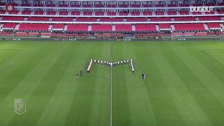 San Lorenzo e Estudiantes homenagearam o eterno camisa 10. DUGOUT