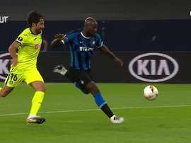 L'Inter supera il Getafe. Dugout