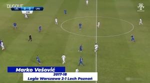 Golaços entre Lech Poznan e Legia Varsóvia. DUGOUT