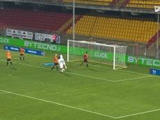 Il gol di Morata contro il Benevento. Dugout
