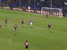 Le beau but de Maxi Lopez contre le Genoa. DUGOUT