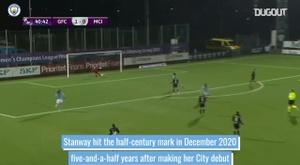 Georgia Stanway's first 50 goals for Man City Women. DUGOUT