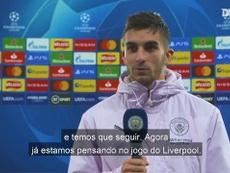 Ferrán Torres vem aproveitando a chance no ataque devido às lesões de Gabriel Jesus e Agüero. DUGOUT
