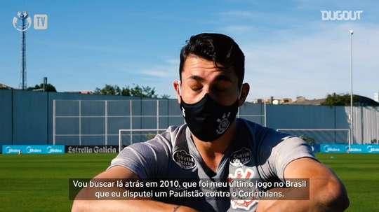 Diego Avelar completa dois anos no Corinthians. DUGOUT