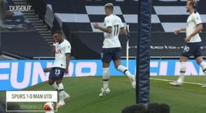 VIDEO: Pitchside view: Steven Bergwijn's goal vs Man United. DUGOUT